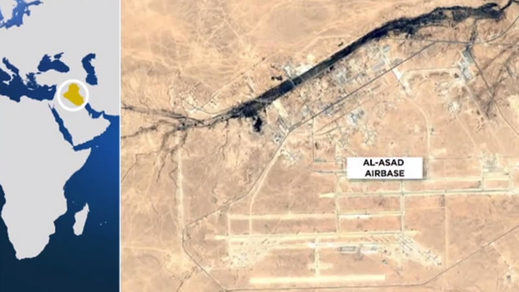Aumenta la escalada de tensión: Irán ataca con misiles 2 bases estadounidenses en Irak