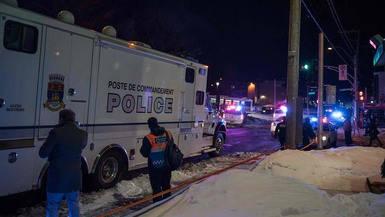 Atentan en Canadá contra un centro islámico: 6 víctimas mortales en Quebec