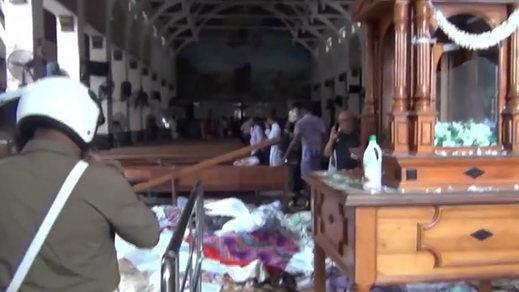 Detenidas 24 personas en relación con los mortales atentados de Sri Lanka