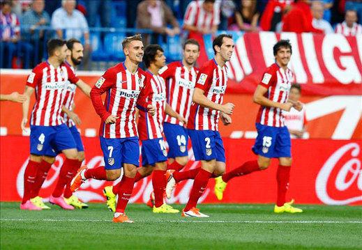 2-0. Griezmann define otro triunfo del Atlético