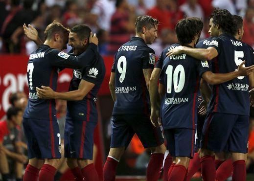 Tres estocadas al Sevilla demuestran que el Atlético aspira a todo (0-3)