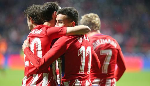 'Correazo' a la Liga: el Atlético hace frente en solitario al Barça
