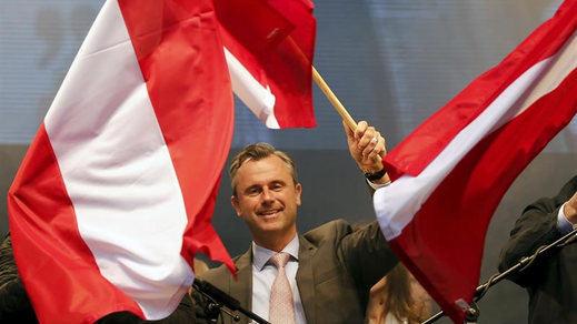 La extrema derecha toma también Austria al ganar la primera vuelta de las elecciones presidenciales