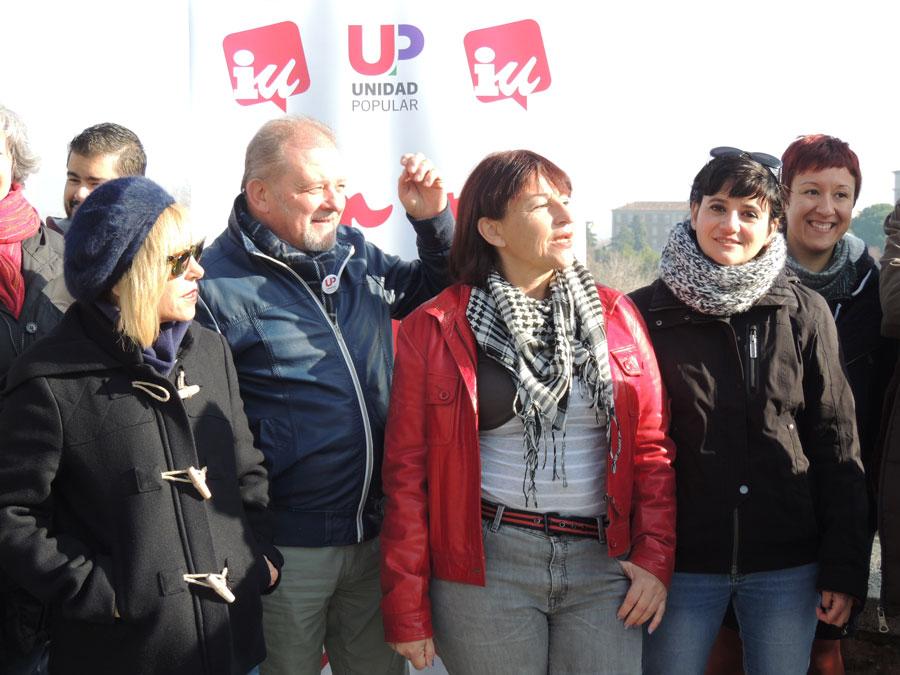 Unidad Popular-IU muestra su rechazo a la OTAN y a