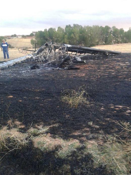 Un incendio provoca el aterrizaje forzoso de una aeronave