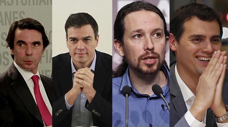 La sombra de Aznar es alargada, las amenazas internas contra Sánchez, la retirada de Rivera y la euforia de Iglesias, 'El Gordo' tras las elecciones