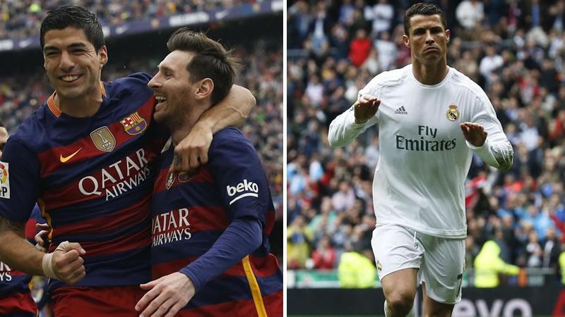 La Liga, en manos del Madrid y el Barça tras bajarse el Atlético del último tren
