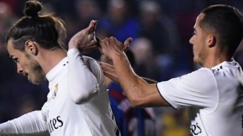 Bale vuelve a la polémica tras su celebración del 1-2 al Levante