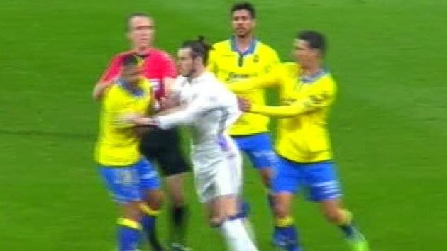 Los errores en cadena que condenaron al Madrid ante el Las Palmas: Bale, Ramos, Keylor...