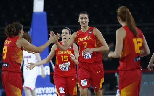 Las chicas guerreras inician su defensa del título Europeo con paliza a Lituania (72-58)