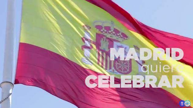 El PP quiere que los madrileños juren la bandera y llenen la ciudad de enseñas nacionales