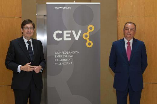 Bankia y la CEV se reúnen para analizar los retos de las empresas de la región