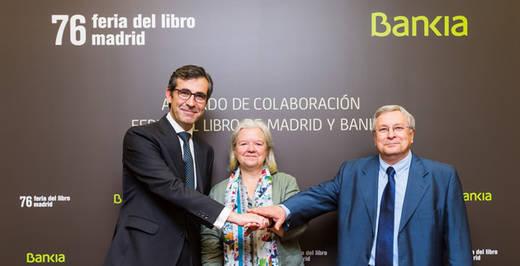 Bankia patrocinará la Feria del Libro de Madrid 2017