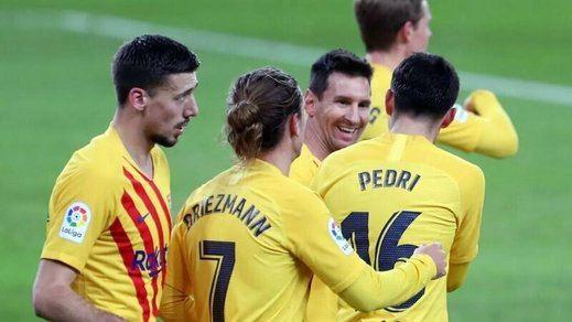 El Barça va dejando atrás la catástrofe con una victoria sanadora en Bilbao (2-3)