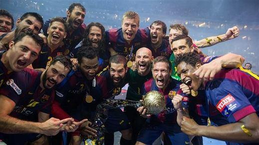 El multicampeón Barça copa el Equipo Ideal de la Liga de balonmano