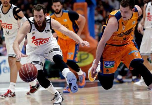 Un Madrid muy serio apuntilla al Valencia y se mete en la finalísima ACB (84-90)