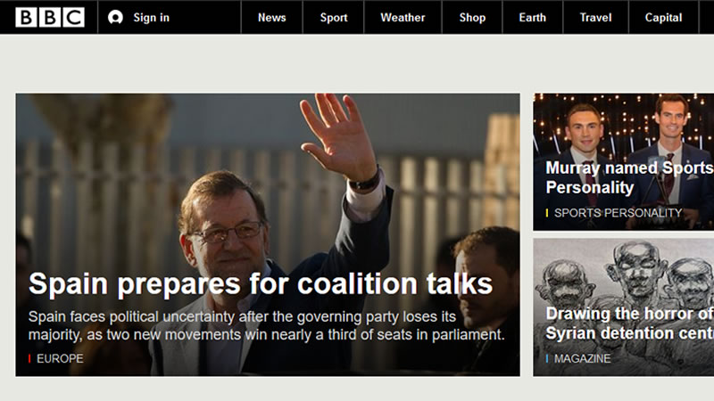 La prensa internacional destaca el auge de Podemos y alerta sobre la ingobernabilidad