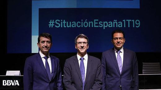La economía española crecerá un 2,4% este año y un 2% en 2020, según BBVA Research