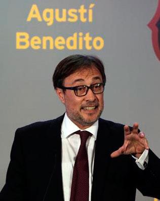 Benedito el candidato más original: 'El Barça es la marca más sexy del fútbol'