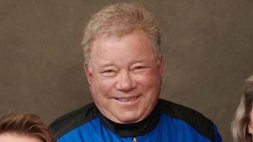 William Shatner, en la foto de la misión