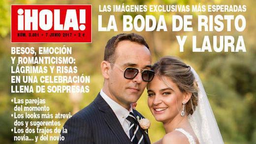Las fotos de la boda de Risto Mejide y Laura Escanes salen a la luz