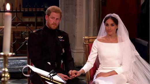 Meghan Markle y el príncipe Harry se dan el 'sí quiero' en el castillo de Windsor