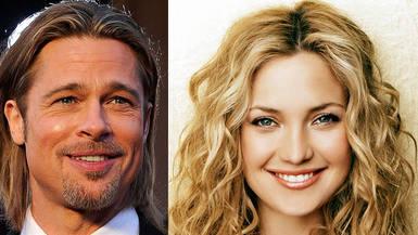 Kate Hudson y Brad Pitt, la nueva pareja bomba de Hollywood