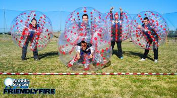 Nuevas Actividades en Paintball Sevilla Friendlyfire: Bubble Soccer