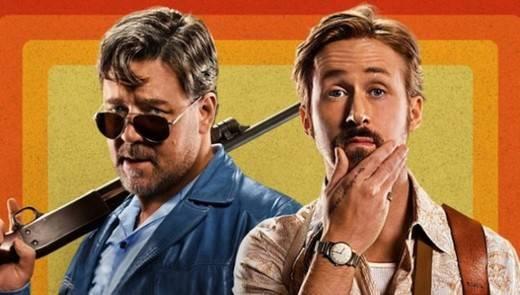 Ryan Gosling y Russell Crowe reinan en la cartelera con 'Dos buenos tipos'