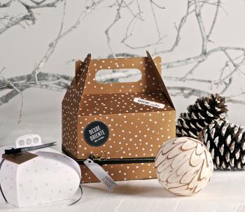 Aumento masivo en la elaboración y reciclaje de las cajas de cartón preparando la época navideña