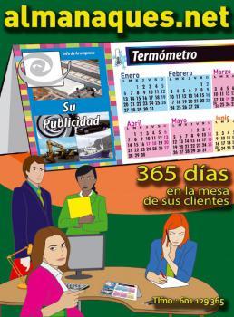 Calendarios con termómetro: publicidad útil, 365 días a la vista de los clientes