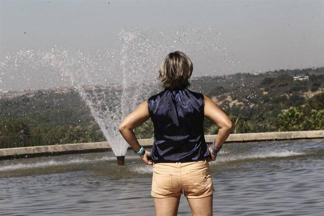 Las altas temperaturas se repetir�n el lunes en Castilla-La Mancha y dejan un afectado por un golpe de calor