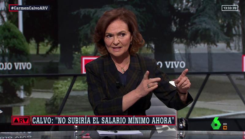 Calvo confirma que no se subirá el salario mínimo en 2021 pero lo hará cuando pase lo peor de la crisis