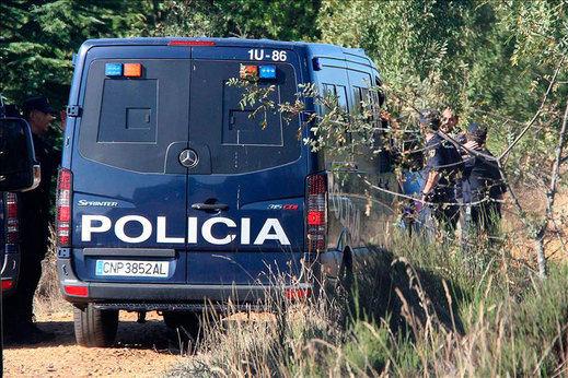 Hallan un cadaver en la finca del detenido por la desaparición de una peregrina estadounidense en el Camino de Santiago