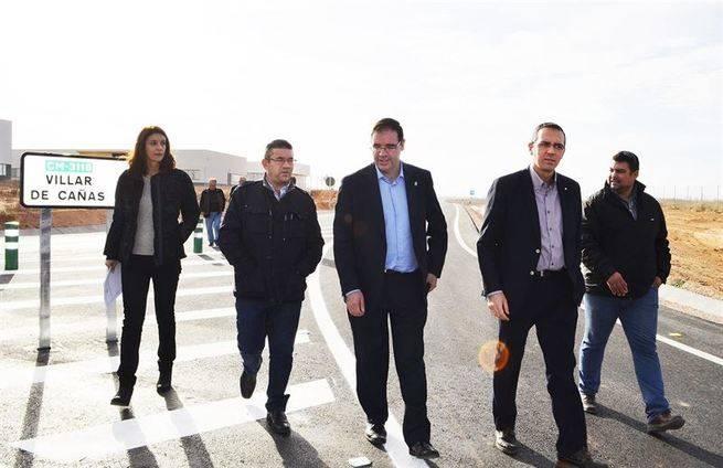 2,2 millones de euros de gasto para pavimentar los caminos de acceso al futuro ATC de Villar de Ca�as
