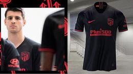 El Atlético de Madrid se pasa al negro en su segunda equipación