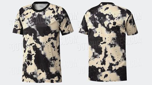 La surrealista nueva camiseta que podría vestir el Real Madrid en los entrenamientos