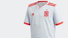 Así será la segunda equipación de la Selección española para el Mundial