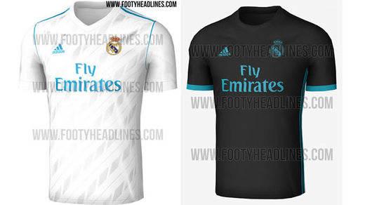 Las camisetas del Real Madrid para la temporada 2017/2018: primera y segunda