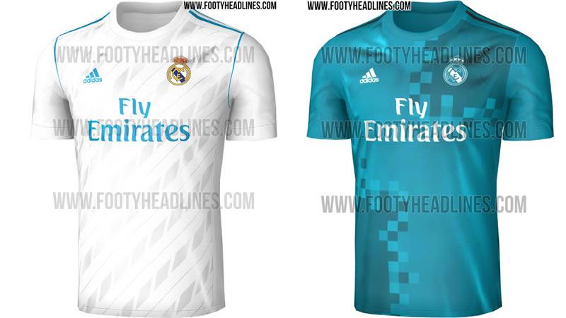 Filtran Las Camisetas Del Real Madrid Para La Próxima