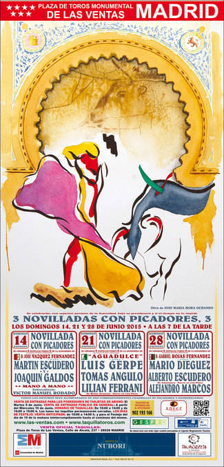 Las Ventas: un atractivo mano a mano Escudero-Gald�s inicia un mes de novilleros punteros