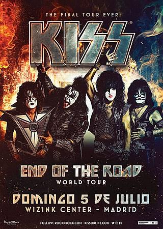 Kiss harán un (supuesto) último paso por España antes de retirarse: julio de 2020