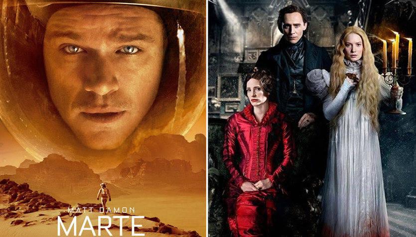 Estrenos semanales: lo nuevo de Ridley Scott y Guillermo del Toro y hasta 3 películas españolas