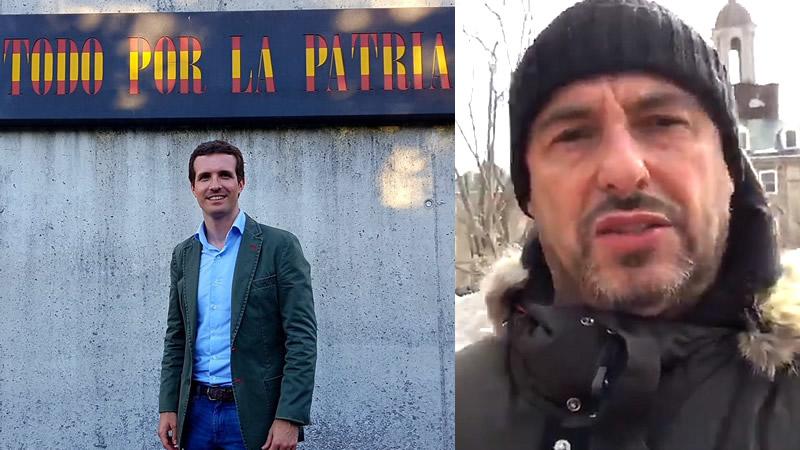 'Pablo Casado, eres un fraude y un mequetrefe': el vídeo viral de Jaume Gelabert