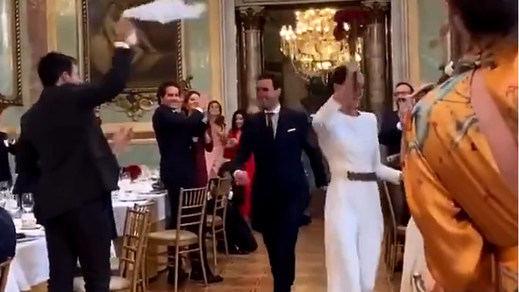 El vídeo viral que indigna a toda España: una boda en el Casino de Madrid sin mascarillas ni ninguna medida de seguridad