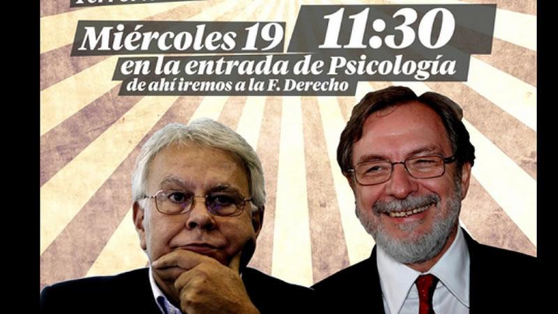Prisa declara la guerra a Podemos tras el boicot a la conferencia universitaria de Cebrián y González