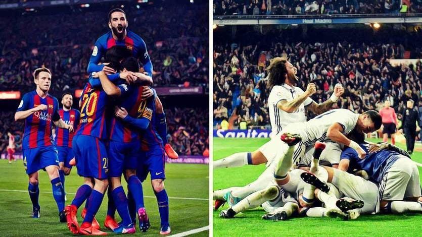 El destino diferente de Madrid y Barça en la Champions