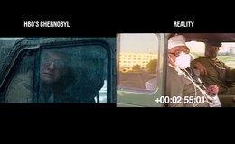 Comparación realidad y ficción de 'Chernobyl'