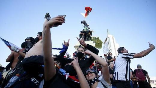 Los chilenos dice adiós en las urnas a la Constitución de Pinochet