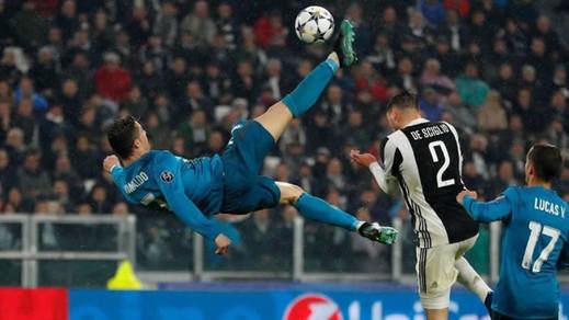 La mágica chilena de Cristiano Ronaldo a la Juventus, un gol para el recuerdo